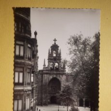 Postales: POSTAL - BILBAO - 35.- IGLESIA DE SAN VICENTE - DARVI - DANIEL ARBONEZ VILLACAMPA - SIN CIRCULAR. Lote 157259930