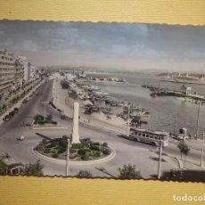 Postales: POSTAL - SANTANDER - 1.- CALLE DE CASTELAR - GARCÍA GARRABELLA - ESCRITA EN 1956. Lote 157262202