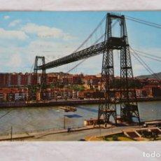 Postales: LAS ARENAS 57 . PUENTE DE VIZCAYA GARCIA GARRABELLA MATASELLOS DURANGO 1972. Lote 157877514