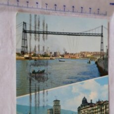Postales: POSTAL DE BILBAO - VISTAS DE LA RIA. 48. GARCIA GARRABELLA MATASELLOS. Lote 157877606