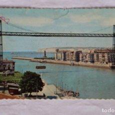 Postales: PORTUGALETE (VIZCAYA) -PUENTE DE VIZCAYA- (GARCÍA GARRABELLA Y CIA. Nº 2220) CIRCULADA 1962. Lote 157877678