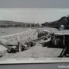 Postales: POSTAL FOTOGRAFÍA. SAN SEBASTIÁN. PLAYA DE LA CONCHA. MANIPEL RTRO.. Lote 158810738