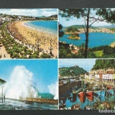 Postales: POSTAL SIN CIRCULAR - SAN SEBASTIAN 39 - PLAYA DE LA CONCHA - EDITA MANIPEL. Lote 159388426
