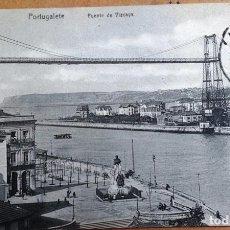 Postales: BILBAO, PORTUGALETE, PUENTE DE VIZCAYA. Lote 159885338