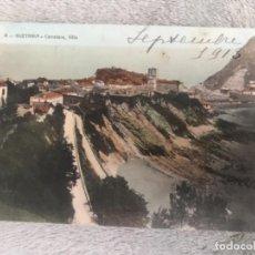 Postales: ANTIGUA POSTAL GUETARIA CARRETERA VILLA NUM 4 . Lote 160111014