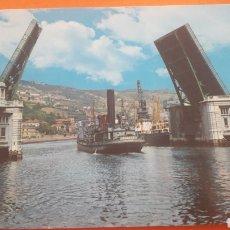Postales: BILBAO PUENTE GENERALISIMO. Lote 160455962