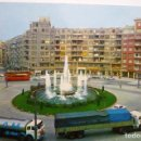Postales: POSTAL BILBAO - PLAZA ZABALBURU -CAMIONES PEGASO. Lote 160543510