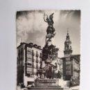 Postales: VITORIA. POSTAL NO.18, MONUMENTO A LA INDEPENDENCIA. BATALLA DE VITORIA.(A.1958). Lote 160819922