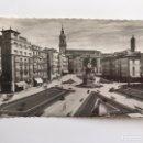 Postales: VITORIA. POSTAL NO.16, PLAZA DE LA VIRGEN BLANCA. EDITA: ED. GARCIA GARRABELLA (A.1957). Lote 160820265