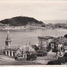 Postales: POSTAL DE SAN SEBASTIAN - VISTA PARCIAL DESDE ALDAPETA. Lote 161678434