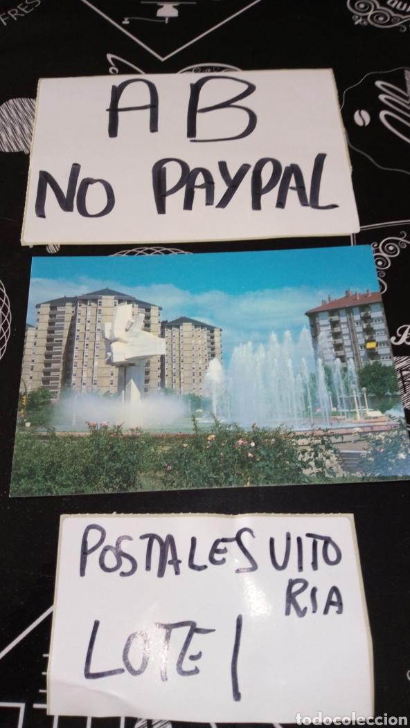 POSTAL NO CIRCULADA VITORIA GASTEIZ PLAZA PARQUE DE LA CONSTITUCIÓN EDICIONES PARIS (Postales - España - País Vasco Moderna (desde 1940))