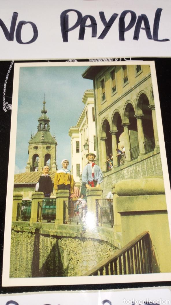 Postales: Postal no circulada Vitoria gasteiz gigantes cuesta San Vicente tradiciones victorianas inedita tc - Foto 2 - 161858429