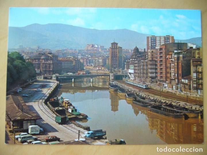 BILBAO (VIZCAYA) - MUELLE DE RIPA Y ARENAL (Postales - España - País Vasco Moderna (desde 1940))