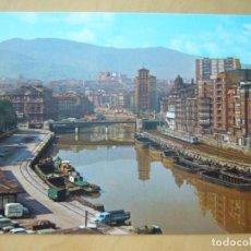 Postales: BILBAO (VIZCAYA) - MUELLE DE RIPA Y ARENAL. Lote 162439766