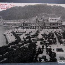 Postales: POSTAL SAN SEBASTIÁN PARQUE ALDERDI-EDER ANIMADA L ROISIN SIN CIRCULAR. Lote 162583614