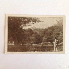Postales: POSTAL SIERRA ARALAR. PICO ALTXUETA.. FOTO OJANGUREN. CIRCULADA. 1941. Lote 162913962