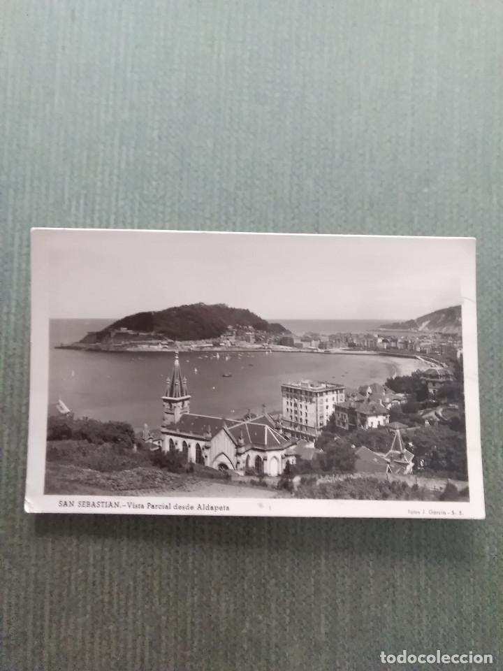 POSTAL SAN SEBASTIAN VISTA PARCIAL DESDE ALDAPETA (Postales - España - País Vasco Moderna (desde 1940))