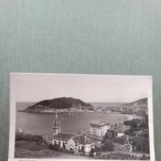 Postales: POSTAL SAN SEBASTIAN VISTA PARCIAL DESDE ALDAPETA. Lote 163442970