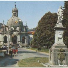 Postales: Nº 12 - SANTUARIO DE LOYOLA. GUIPÚZCOA. VISTA GENERAL. SIN CIRCULAR. ED. MANIPEL.. Lote 163488166