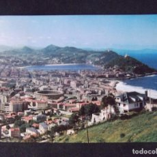 Postales: SAN SEBASTIAN-V47-CIRCULADA-VISTA GENERAL DESDE ULIA. Lote 163493438