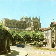 Cartes Postales: VITORIA - 73 PLAZA VICENTE GOICOECHEA - NUEVA CATEDRAL, AL FONDO. Lote 163502894