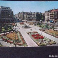 Postales: BILBAO-V47-ESCRITA-PLAZA DE FEDERICO MOYUA. Lote 163543406