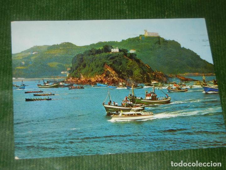 SAN SEBASTIAN Nº 65 REGATA DE TRAINERAS. EDICIONES MANIPEL.1967 - CIRCULADA (Postales - España - País Vasco Moderna (desde 1940))