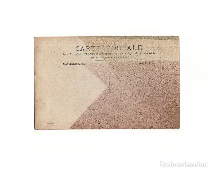 Postales: SAN SEBASTIÁN.(GUIPÚZCOA).- CARNAVAL DE 1909. FOTO FRÈDERIC. POSTAL FOTOGRÁFICA. - Foto 2 - 163791770