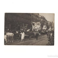 Postales: SAN SEBASTIÁN.(GUIPÚZCOA).- CARNAVAL DE 1909. FOTO FRÈDERIC. POSTAL FOTOGRÁFICA.. Lote 163791906