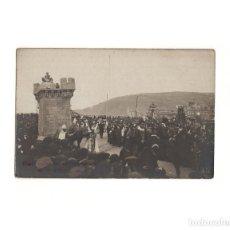 Postales: SAN SEBASTIÁN.(GUIPÚZCOA).- CARNAVAL DE 1909. FOTO FRÈDERIC. POSTAL FOTOGRÁFICA.. Lote 163792858