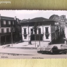 Postales: FOTOGRAFICA GUETARIA POSTAL ANTIGUA PLAZA DE ELCANO GUIPUZCOA ZARAUZ BUEN ESTADO. Lote 163907866