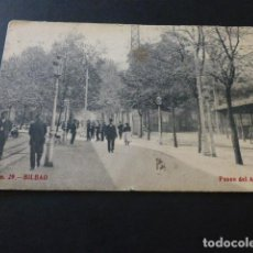 Postales: BILBAO PASEO DEL ARENAL. Lote 165068862