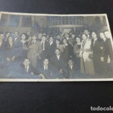 Postales: SAN SEBASTIAN POSTAL FOTOGRAFICA GRUPO AÑOS 20-30 PHOTO CARTE FOTOGRAFO. Lote 165237274