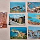 Postales: LOTE DE 7 POSTALES DE LEKEITIO, GETARIA Y GAZTELUGATXE. Lote 165349941