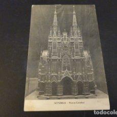 Postales: VITORIA NUEVA CATEDRAL. Lote 165394986