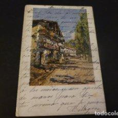 Postales: IRUN GUIPUZCOA UNA CALLE. Lote 165396170