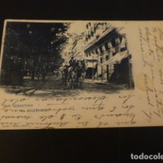 Postales: SAN SEBASTIAN EL BOULEVARD. Lote 165396230