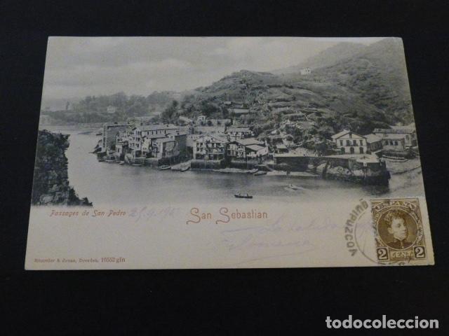 PASAJES DE SAN JUAN GUIPUZCOA VISTA (Postales - España - Pais Vasco Antigua (hasta 1939))
