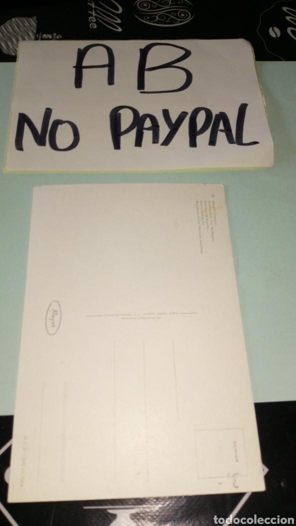 Postales: Inedita postal Bilbao santuario Begoña payer 1964 no circulada - Foto 2 - 165706332