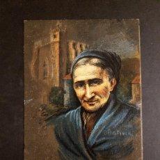 Postales: LEZO TIPOS PAIS VASCO OÑATIVIA ED LABORDE LABAYEN TOLOSA PUBLICIDAD RESTAURANT FRONTON JAI ALAI. Lote 165923066