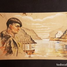 Postales: PASAJES S PEDRO PAIS VASCO OÑATIVIA ED LABORDE LABAYEN TOLOSA PUBLICIDAD RESTAURANT FRONTON JAI ALAI. Lote 165923142