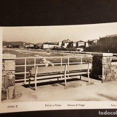 Postkarten - ZARAUZ GUIPUZCOA BALCON Y PLAYA - 165923398