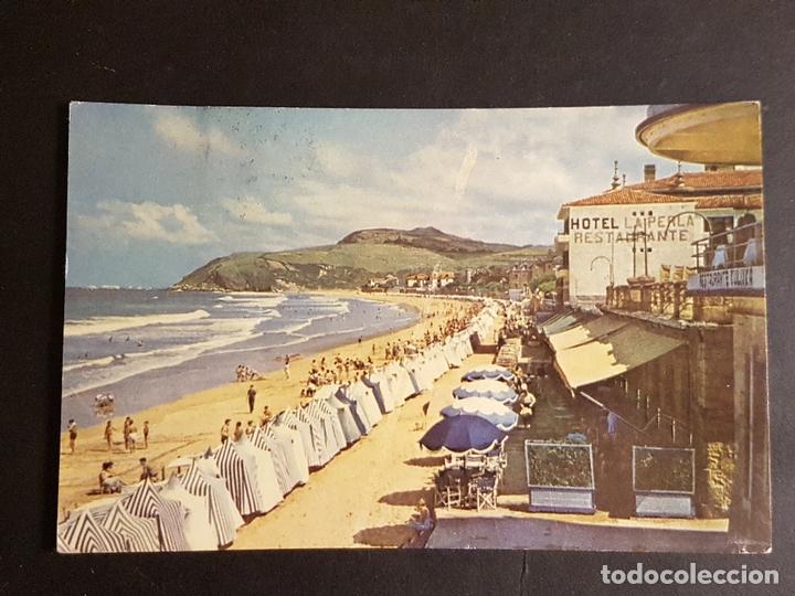 ZARAUZ GUIPUZCOA LA PLAYA (Postales - España - Pais Vasco Antigua (hasta 1939))