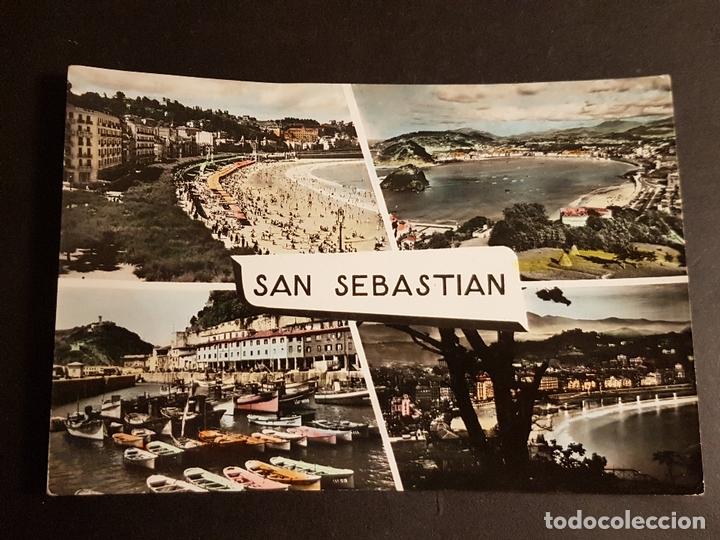 SAN SEBASTIAN VARIAS VISTAS (Postales - España - Pais Vasco Antigua (hasta 1939))