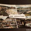 Postales: SAN SEBASTIAN VARIAS VISTAS. Lote 165923714