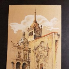Postales: HERNANI GUIPUZCOA RINCON PLAZA MAYOR H. OÑATIVIA PUBLICIDAD RESTAURANT FRONTON JAI ALAI. Lote 165923782