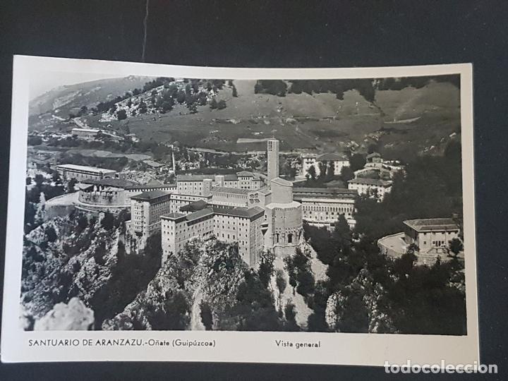 OÑATE GUIPUZCOA SANTUARIO DE ARANZAZU VISTA GENERAL (Postales - España - Pais Vasco Antigua (hasta 1939))