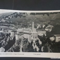 Postales: OÑATE GUIPUZCOA SANTUARIO DE ARANZAZU VISTA GENERAL. Lote 165960506