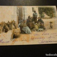 Postales: ARAGON A LA FRESCA FOTOTIPIA DE L. ESCOLA REVERSO SIN DIVIDIR CIRCULADA . Lote 166014754