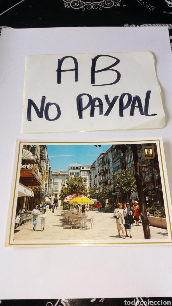 POSTAL NO CIRCULADA VITORIA GASTEIZ EDUARDO DATO NÚMERO 101 YABAR (Postales - España - País Vasco Moderna (desde 1940))